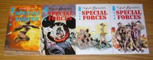 Special Forces #1-4 VF/NM complete series - kyle baker - bad girl at war set 2 3
