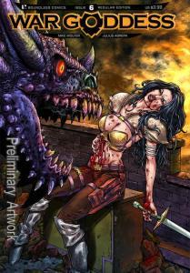War Goddess #6 FN; Boundless | save on shipping - details inside