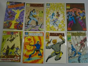 Dreadstar Comic lot 43 different from #2-55 + annual avg 8.5 VF+ (1983-90)