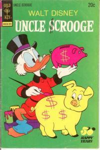 UNCLE SCROOGE 107 G-VG  Sept. 1973 COMICS BOOK