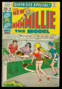 MILLIE THE MODEL QUEEN-SIZED SPECIAL #10 1971-MARVEL VG