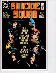 Suicide Squad #1 - 1st Series - 9.4 - 1987
