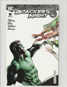 Blackest Night #8 (DC Comics) RRP Variant HTF Doug Mahnke NM White Lantern Corps