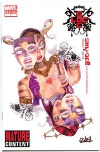 SKY DOLL LACRIMA CHRISTI #1 Variant, NM, Barbucci, Canepa, 2010, 1st, Good girl