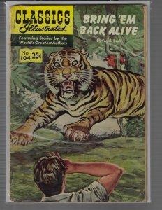 Classics Illustrated #104 (Gilberton Pubs, 1969)