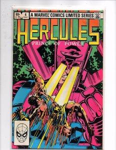 Marvel Comics Hercules, Prince of Power #4 Bob Layton Story & Art Last Issue