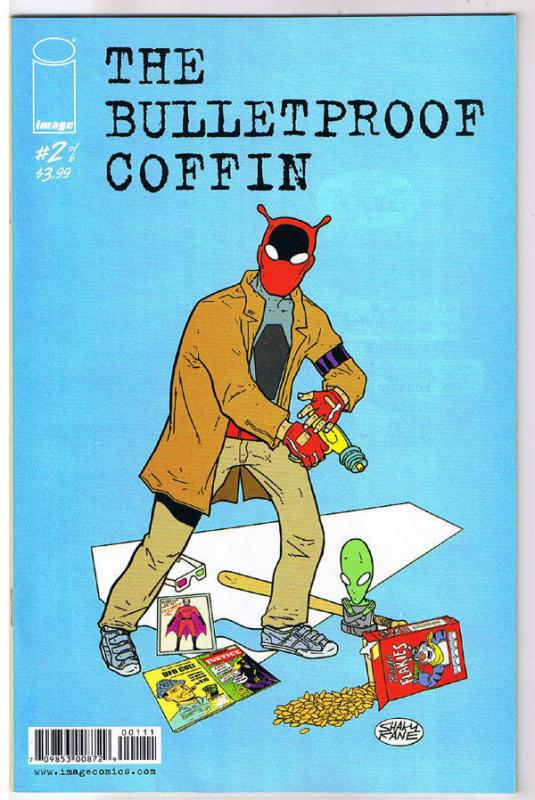 BULLETPROOF COFFIN #2, NM, 2010, David Hine, Shaky Kane,  more in store