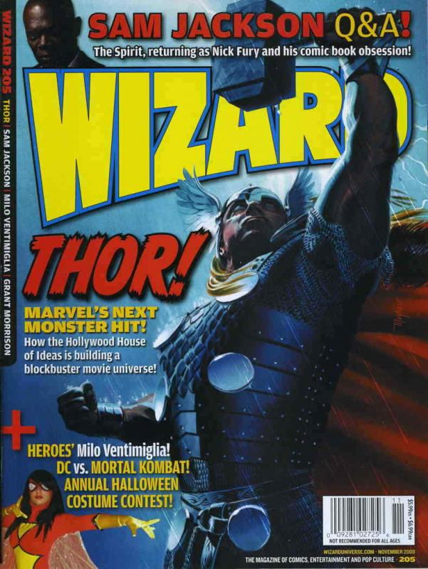 Wizard: The Comics Magazine #205B FN; Wizard | save on shipping - details inside