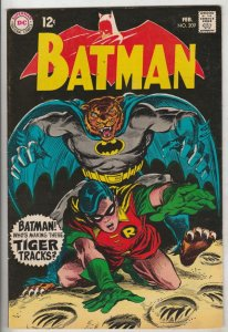 Batman #209 (Feb-69) VF+ High-Grade Batman