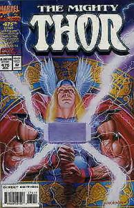 Thor #475 VF/NM; Marvel | save on shipping - details inside