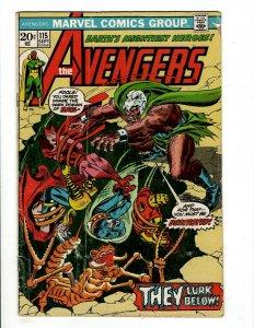 12 Marvel Comics Avengers 115 203 234 235 238 & Micronauts 1 Meltdown 1 + J431