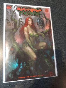HARLEY QUINN POISON IVY #1 SCOTT'S COLLECTABLES NYC CON VARIANT
