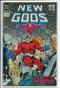 NEW GODS (1989 DC) #19 VF+ a39096