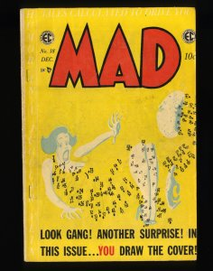 Mad #18 GD/VG 3.0