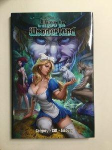 Grimm Fairy Tales Alice In Wonderland Tpb Hardcover Hc Near Mint Nm Zenescope