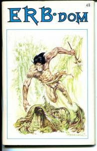 ERB-Dom #48 1971-Edgar Rice Burroughs fanzine-Tarzan-John Carter-FN