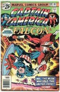 Captain America #199 1976- Falcon- Marvel Bronze Age- NM