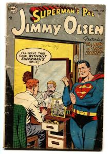 SUPERMAN'S PAL JIMMY OLSEN  #1 First issue! 1954-DC comic book G