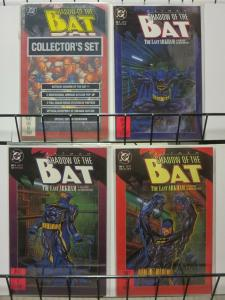 SHADOW OF THE BAT 1-4 The Last Arkham complete story
