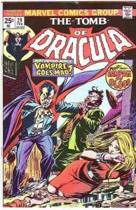 Tomb of Dracula #29 (Feb-75) VF+ High-Grade Dracula