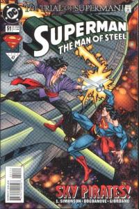 Superman: The Man of Steel #51, NM + (Stock photo)