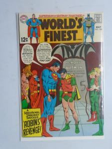 World's Finest #184, Writing on Cover 7.0 (1969)