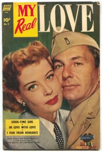 My Real Love #5 1952- ONLY ISSUE- Good-Time Girl VG/F