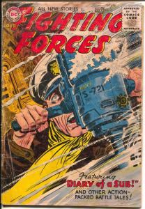 Our Fightin' Forces -#11 1956-DC-Joe Kuvert art-submarine cover-FR/G
