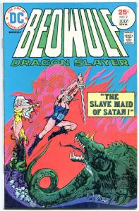 BEOWULF Dragon Slayer #2, VF/NM, Slave Maid of Satan, 1975, more DC in store