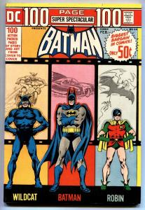 DC 100-PAGE SUPER SPECTACULAR #14-Batman and Robin-1973 vf-