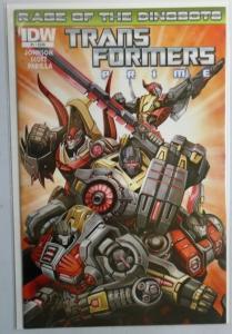 Transformers Prime Rage of the Dinobots #1, 8.0/VF (2012)