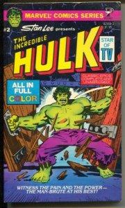 Incredible Hulk Paperback Book #2 -#82559-3-Stan Lee-John Buscema-color comics-F
