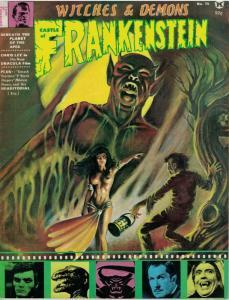 CASTLE OF FRANKENSTEIN 15 VG-F CHRIS LEE,Karloff copy L