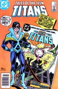 Tales of the Teen Titans #59, NM- (Stock photo)