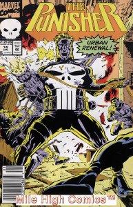 PUNISHER  (1987 Series)  (MARVEL) #74 NEWSSTAND Very Good Comics Book