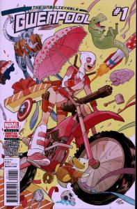 Gwenpool #1 - NM - 2016
