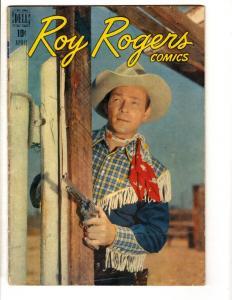 Roy Rogers Comics # 4 VG/FN Dell Golden Age Comic Book Cowboy Western Photo JL10