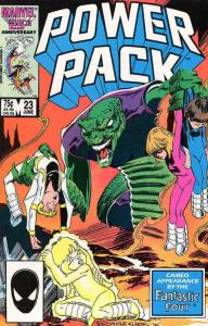 Power Pack #23 VF/NM; Marvel   save on shipping - details inside