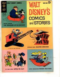 5 Disney's Comics Stories Gold Key Comics # 264 VF 265 VF 269 FN 280 FN 283 JL3