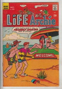 Life with Archie #89 (Sep-69) NM/NM- High-Grade Archie, Jughead, Betty, Veron...