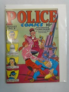 Police Comics #1 Don Maris Reprint 1941 6.0 FN (1975)