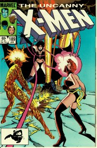 X-Men #189 - NM - Magma Appearnce