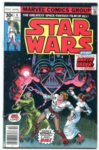 STAR WARS COMICS #4 1977- Darth Vader- Marvel comics VF-