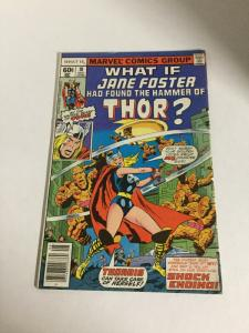 What If? 10 Fn Fine 6.0 First Jane Foster As Thor Marvel