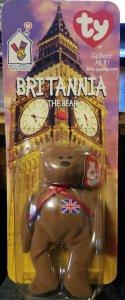 McDonald's Ty Beanie Baby Britannia The Bear 1997 OAKBROOK BOTH RARE ERRORS