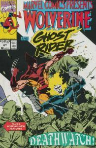 Marvel Comics Presents #67 VF/NM; Marvel | save on shipping - details inside