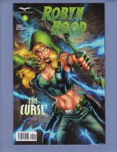 Robyn Hood The Curse #2 NM Zenescope 2018