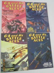 G-8 and His Battle Aces 4 different #12,13,19,26 8.0 VF (2004-07)