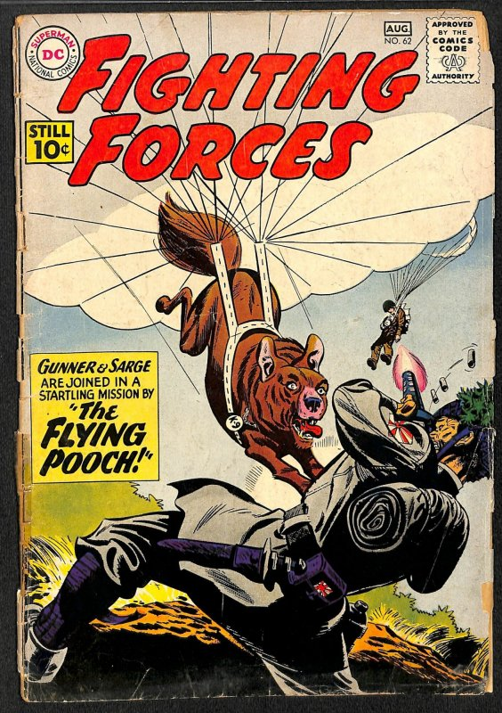 Our Fighting Forces #62 (1961)