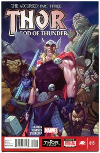 THOR GOD of THUNDER #15, NM-, Jason Aaron, Marvel, 2014, more in store